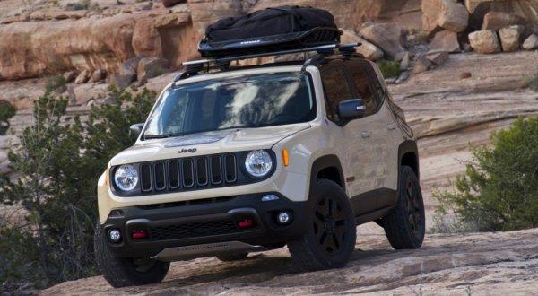 Компания Jeep приготовила спецверсию внедорожника Renegade