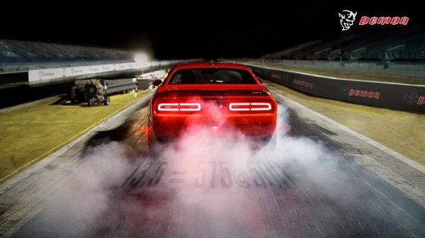 Новый Dodge Challenger SRT Demon оснастят особой подвеской