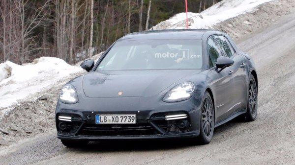 Универсал Porsche Panamera Sport Turismo проходит завершающие тесты