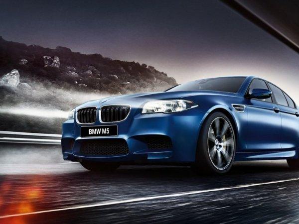 Обновленный BMW M5 представят во Франкфурте в сентябре