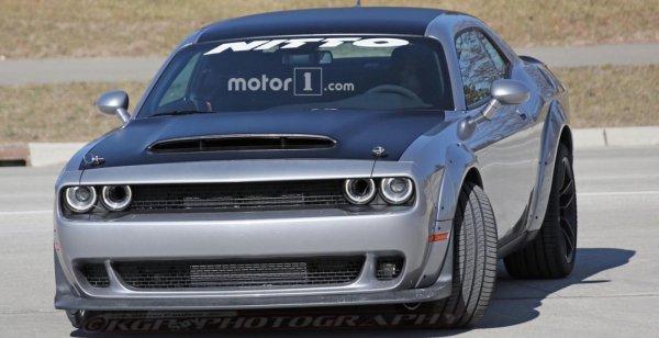 Фотошпионы разместили снимки Dodge Challenger Demon