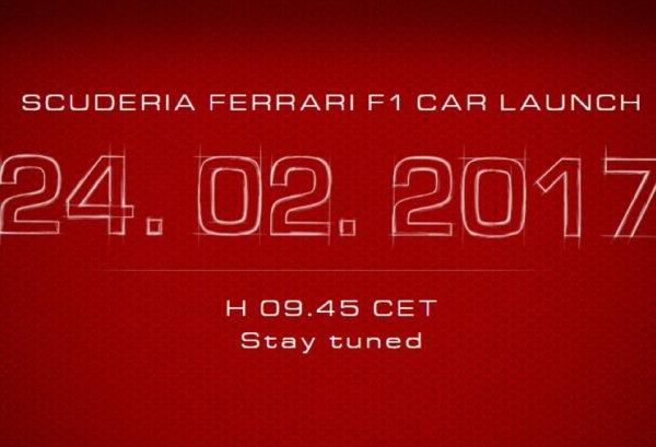 Презентация болидов Ferrari и McLaren состоится в 11:45 и 14:00