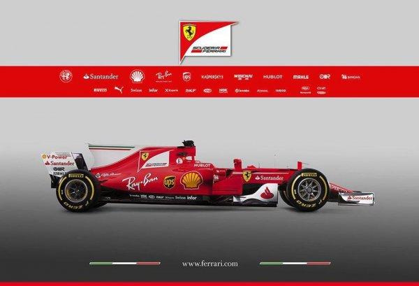 Ferrari показала новый болид для сезона 2017 года