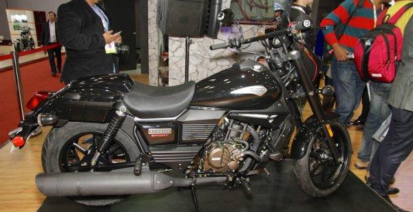 UM Global разработал новый мотор для мотоциклов серии Renegade Commando