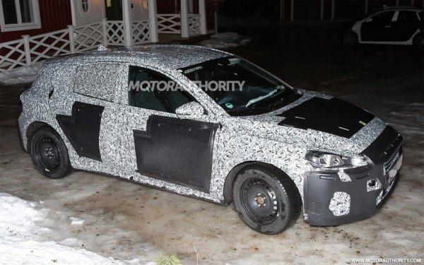 Ford Focus нового поколения замечен на зимних испытаниях