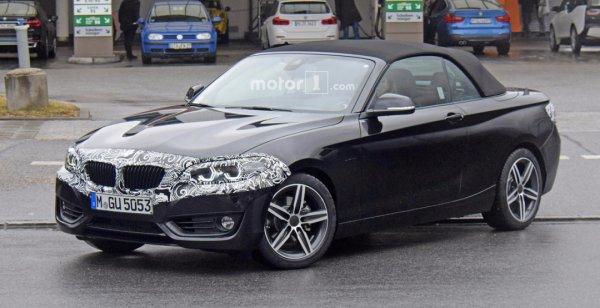 Обновленный кабриолет BMW 2-Series ожидают незначительные изменения