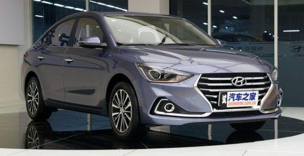 В марте на рынок Китая выходит Hyundai Celesta