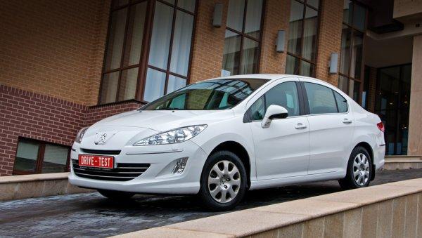 В России спрос на Peugeot 408 в январе увеличился на 150%