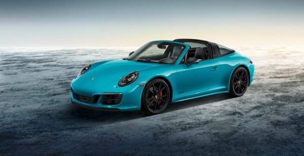 Спорткар 911 Targa 4 GTS получил «фантик» от Porsche Exclusive