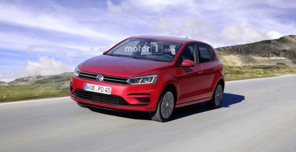 Опубликован независимый рендер Volkswagen Polo 2018