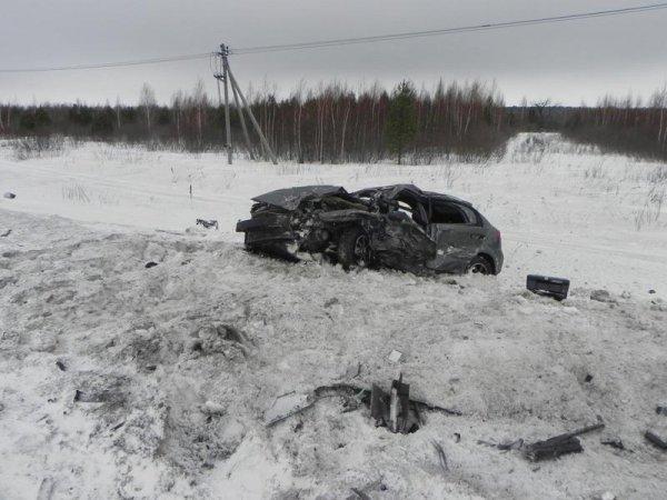Один человек погиб в ДТП на трассе «Тюмень - Ханты-Мансийск», пострадали дети