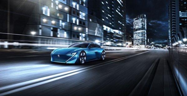 Компания Peugeot представила концепт нового беспилотника