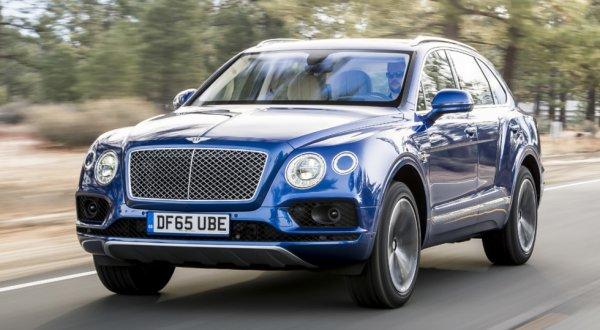 Компактный Bentley Bentayga получит электрическую версию