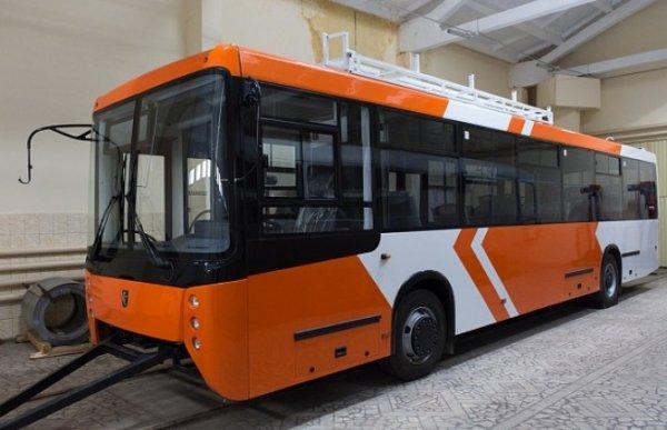 «НЕФАЗ» начал осваивать производство троллейбусов