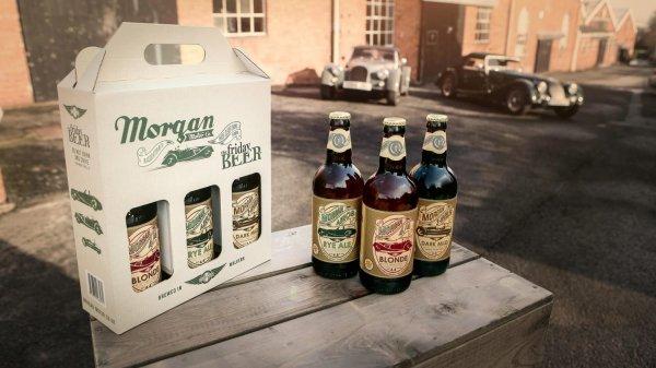 Morgan Motor Company начала производство фирменного пива