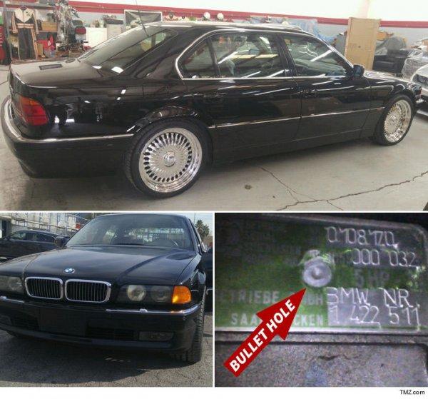 В продаже появится BMW, в котором убили рэпера Тупака Шакура
