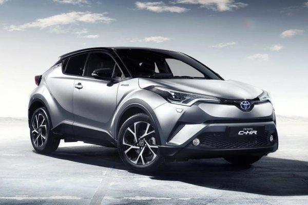 Японцы выпустили внедорожник: Обзор Toyota C-HR 2017
