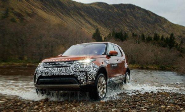 Британцы обновили внедорожник: Обзор Land Rover Discovery 2017