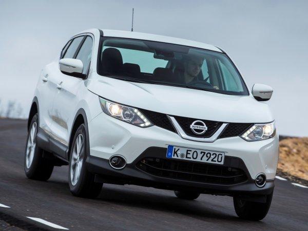 Nissan отзывает более 33 тыс Nissan Qashqai в России
