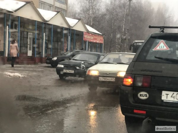 В Смоленске произошло массовое ДТП