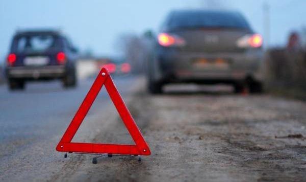 Напротив Москва-Сити столкнулись два автомобиля