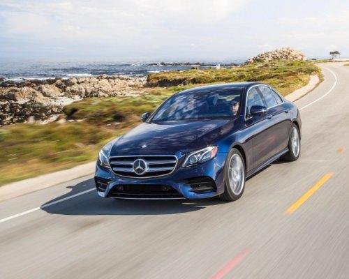 Немцы выпустили новый Mercedes-Benz E300 2017