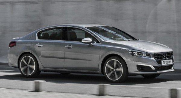 Peugeot представит седан 508 новой генерации в 2018 году
