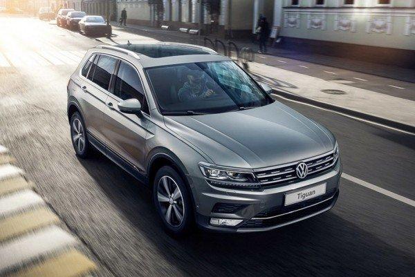 Новый Volkswagen Tiguan отправился на индийский конвейер