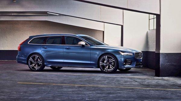 Представлен автомобиль Volvo V90 R 2017 модельного года