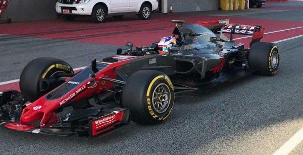 Haas F1 Team не выполнили тестовую программу