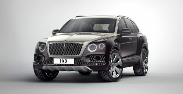 Ателье Mulliner представит в Женеве роскошный Bentley Bentayga