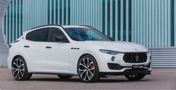 Ателье G&S Exclusive поработало над дизайном Maserati Levante