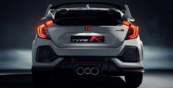 В сети появились первые фото хэтчбека Honda Civic Type R