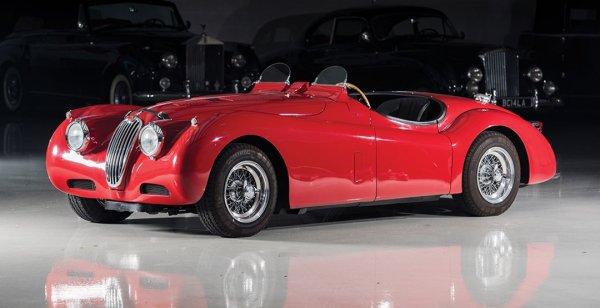 Раритетный Jaguar XK140 SE Heuber Roadster продают за 110 000 долларов