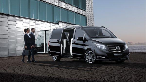 Тюнеры из Brabus представили роскошный фургон Mercedes-Benz V-Class