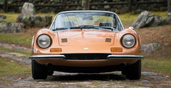 Уникальный автомобиль Ferrari Dino 246 GTS выставят на продажу