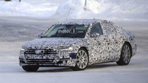 Новый Audi S8 проходит дорожные тесты в Северной Европе