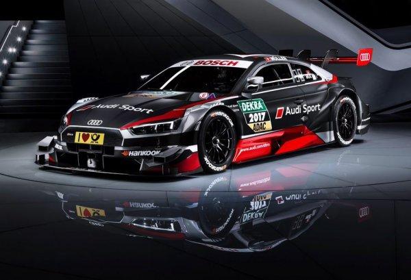 Audi Sport представила свой автомобиль для гонок DTM