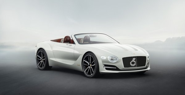 Bentley представила в Женеве концепт электрокара Bentley EXP 12 Speed 6e