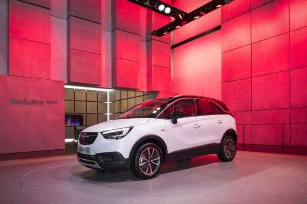 Opel презентовал новый кроссовер Crossland X