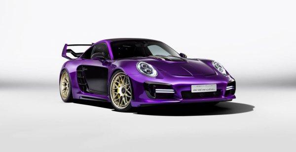 Компания Gemballa представила тюнинговое купе Porsche 911