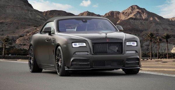 В Женеве представлен 740-сильный кабриолет Rolls-Royce Dawn