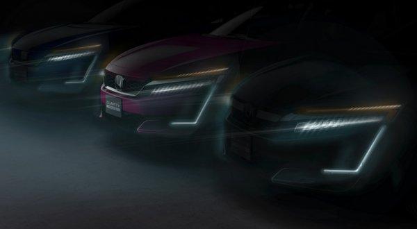 Honda представит новые версии Clarity в Нью-Йорке