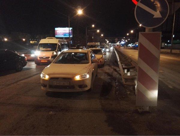 Пьяный водитель устроил тройное ДТП в Тюмени