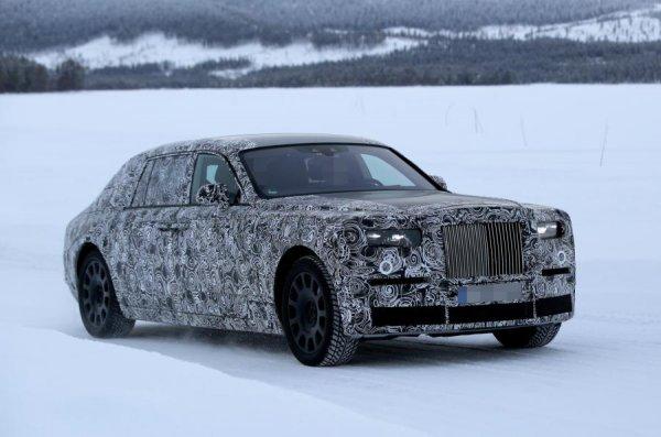 Компания Rolls-Royce вывела на тесты Phantom нового поколения