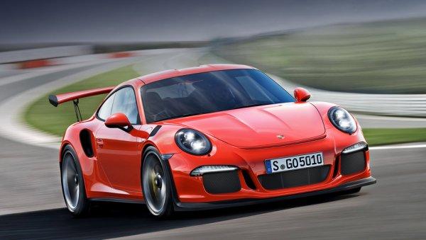 Porsche озвучили рублевую цену спорткара 911 GT3