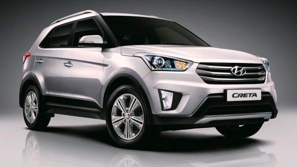 Hyundai Creta в феврале остался лидером в SUV-сегменте