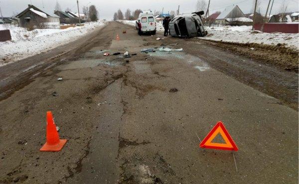 Водитель Toyota погиб, врезавшись в сугроб в Костино