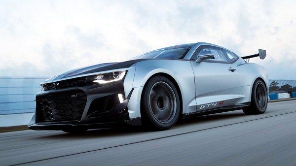 Chevrolet подготовил Camaro для младшей категории GT4