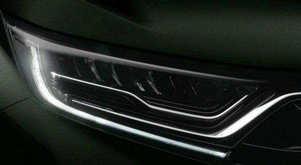 Компания Honda рассекретила семиместный кроссовер CR-V